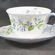 Shelley Fine Bone China Cup & Saucer Harebell 13590