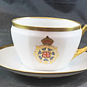 Imperial Order Daughters of the Empire (IODE) Cup & Saucer R S Silesia