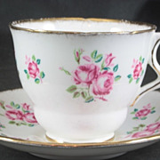 Royal Stafford Fine Bone Chine Cup & Saucer featuring ROSES