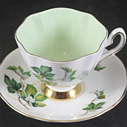 Salisbury China Cup & Saucers featuring Ivy Vines