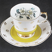 Royal Adderley Cup & Saucer featuring BLOSSOMS