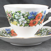 Royal Standard Cup and Saucer featuring FLOWERS
