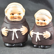Goebel Friar Tuck Salt & Pepper Shakers