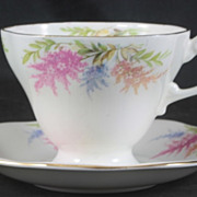 Heathcote  Cup & Saucer featuring Flowers