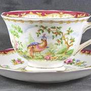 Royal Albert Cup & Saucer Chelsea Bird