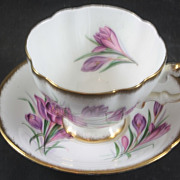 Paragon Canadian Province Flowers Cup & Saucer Crocus