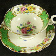 Radfords Fine Bone China Cup & Saucer featuring Flowers