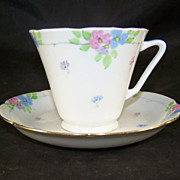 Royal Grafton Fine Bone China Cup & Saucer Pastel Floral