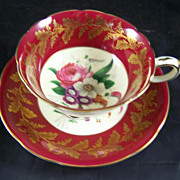 Paragon Fine Bone China Cup & Saucer FLOWERS
