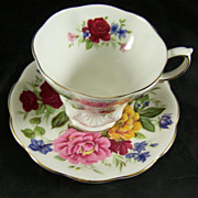 Royal Albert Fine Bone Cup & Saucers SOMERSET Random Harvest