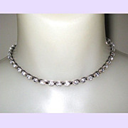 Best Vintage Rhinestone Necklace - Circa 40's