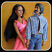 Sonny & Cher Dolls, '75 & '76 Mego