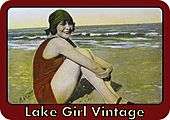 Lake Girl Vintag