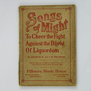 Songs of Might to Cheer the Fight Against the Blight of Liquordom