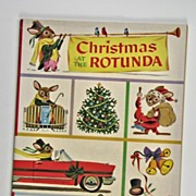 Christmas at the Rotunda Richard Scarry 1955 Ford Children's Coloring & Activity Book
