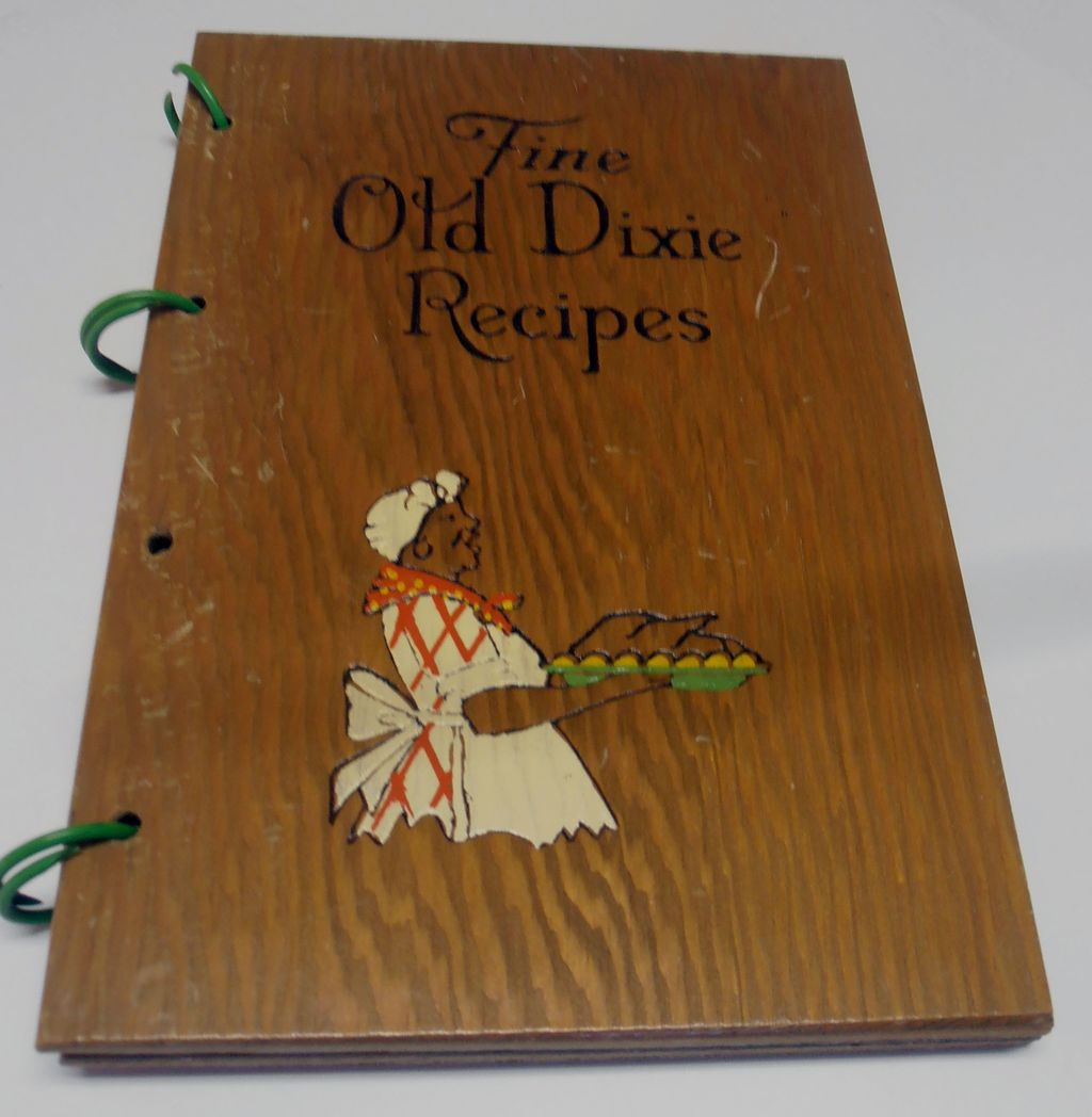 Vintage Old Culinary Cookbook 1939 Black Americana Dixie Memorabilia