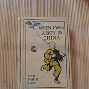 Rare Book When I Was A Boy In China 1887  History Hardback