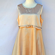 Vintage Early 1960s Prom Dress Evening Wear Size Large Classic Design