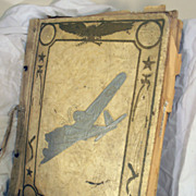 Vintage Air planes  Flying Planes Memorabilia Old Scrapbook