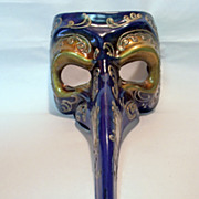 Vintage Italian Venetian Carnival Music Masquerade Mask Halloween