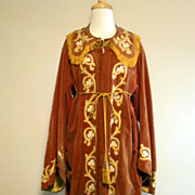 Antique Arts and Crafts Robe Textile.