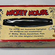 Vintage Early Walt Disney Disneyana Mickey Mouse Memorabilia