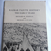 Vintage Ethnographic Native American Indian Paiute Pictures History