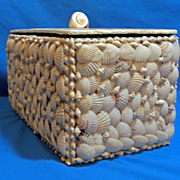 Vintage Folk Art Shabby Chic Sea Ocean Beach Women's Jewelry Trinket Box