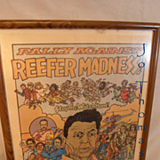 Vintage Protest Pot Marijuana Politics Reagan Historical Ephemera Hippies