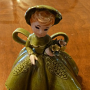 SOLD Delightful Lefton Girl Figurine ca. 1950s