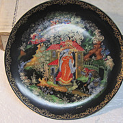 The Princess and the Seven Bogatyrs Porcelain Plate