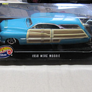 Vintage Hot Wheels 1950 Merc Woodie Car
