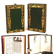 "SOLD Antique French Ladies Almanach w/""Etui""/Box �Almanach aux Dames� circa 1824"