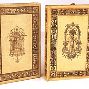 "SOLD Antique French Ladies Almanach w/""Etui/Box, �Guirlande dedie aux Dames�, circa 1824"