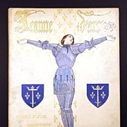 "SOLD French ""Cartonnage Historique"" binding, ""Jeanne d'Arc"" circa 1912"
