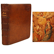 SOLD Antique French Nineteenth Century Livre d'Heures (Book of Hours)