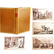"Rare Antique First Edition French Book, ""Don Quichotte Romantique"", circa 1821"