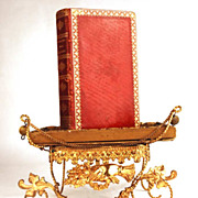 "SOLD Antique French Binding, ""Paroissien Dedie Aux Dames"" circa 1817"