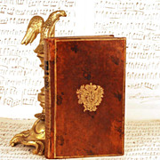 "Antique Eighteenth Century Armorial Binding; Sammelband: ""Opera Comique"" circa 1768"