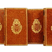 SOLD Antique French Books: Oeuvres de J.F. Ducis circa 1832