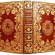 Antique Eighteenth Century French Almanach circa 1766