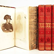 SOLD Antique French Books: Histoire de Napoleon circa 1827