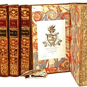 "SOLD Antique French Books: ""Histoire d'Angleterre"" circa 1763"