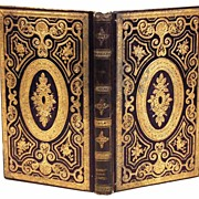 "SOLD Nineteenth Century French Romantic ""Prize Binding circa 1851"