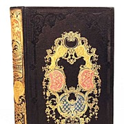 "SOLD Antique Nineteenth Century French ""Romantic Binding"": ""L'Angleterre sous l"