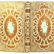 "Antique French Romantic Binding, ""Histoire de Th�odose le Grand"" circa 1850"