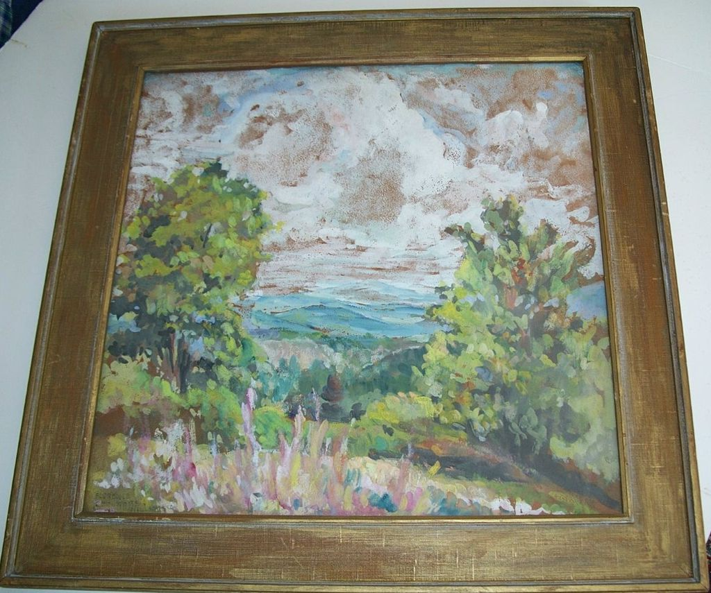 "Florence White Williams, Vermont Art   ""MOLLY STARK TRAIL"""