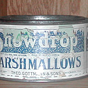 Snowdrop Advertising Marshmallow Palmer Cox Brownies Tin
