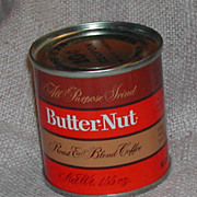 Vintage Butter Nut Sample Coffee Tin Coca Cola Co Full