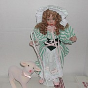 Little Bo Peep & Sheep Ashton Drake Doll